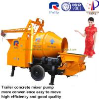 China Pully JBT40-P1 concrete mixer pump, electric engine concrete mixer pump, small portable concrete mixer pump wholesale
