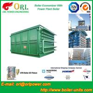 China Heat Economizer / Boiler Economiser In Steam Power Plant Non Pollution wholesale