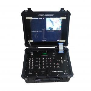 4 In One 17 inch Handheld COFDM Digital Receiver Box Wireless DVR