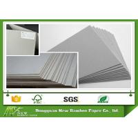 China Grade A Grey Chip Board with 100% Recycled Paper SGS Certificate Anti-Curl Cardboard Sheets wholesale