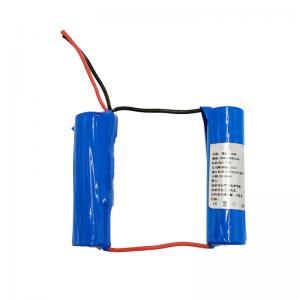 China Custom 7.4 Volt 2500mAh 18650 Lithium Ion Battery 1C Discharge wholesale
