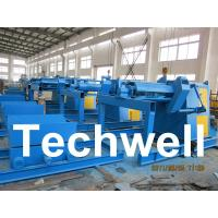 China 5 / 7 / 10 / 15 Ton Automatical Decoiler Curving Machine With Outer Diameter 1300mm wholesale