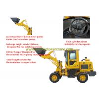 China 37kw Micro Wheel Loader , Compact Wheel Loader Bucket Capacity 0.65m3 wholesale