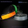 Buy cheap 3D Printer Filament PLA 1.75mm Orange-Grey-White from wholesalers