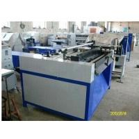 0.75KW Knife Pleating Machine Air Filter Making Machine with Marker