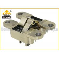 Quality 3 Way Adjustable Concealed Invisible Door Hinges , Hidden Closet Door Hinges for sale