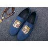 Buy cheap Men Loafer Slip On Shoes Flat Casual Shoes Tiger Metal At Vamp Velvet EUR 38 - 45 from wholesalers