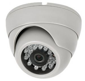 China DAHUA Solution 1Megapixel 10-15m IR distance 3.6mm lens 720P HD-CVI IR Metal Dome Camera 24 LED wholesale