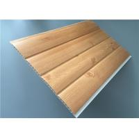 China Fireproof Pvc Wall Panels Lightweight With Four Circular Arc 8.5 Mm Thickness wholesale