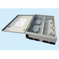 China 96 CORE Fiber Optic Distribution Box Metal Pole Mounted Electrical Box wholesale