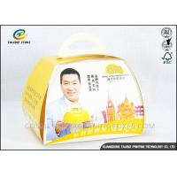 China Lovely Food Packing Boxes Eco Friendly Paperboards For Cake Convenient Carrying wholesale