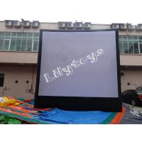 China commercial PVC Inflatable Advertising EN71 , Durable inflatable movie screen on sale