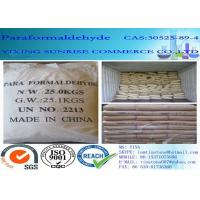 China Paraformaldehyde Combustible White Crystalline Powder CAS 30525-89-4 wholesale