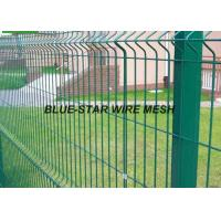 China Mild Steel Welded Wire Mesh Fencing Plastic - Soaked Coated Wire Fencing on sale
