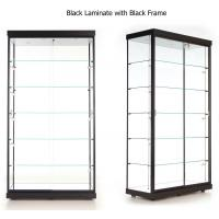 Buy cheap LED Illuminated Wall Showcase Cabinet , Stand Up Retail Store Display Cases from wholesalers