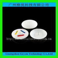 China EAS RF Circle Ink Security Tag , 58KHz Clothing Security Hard Tags wholesale