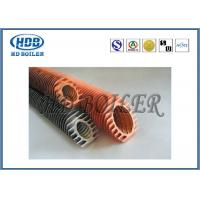 China Steel Extruded Spiral Fin Tube Economizer For Heat Transfer / Air Cooler wholesale
