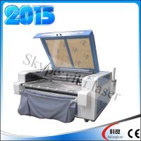 China 1600*1000mm Automatic feeding Two laser head laser engraving machine for fabric on sale