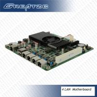 China Micro ATX Motherboard In Mini ITX Case2V Power Intel Atom D2550 Motherboard wholesale