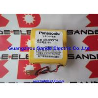 China Panasonic BR-C PLC 6V 5000mAh Lithium Battery with Wire  BR-CCF2TH   BRCCF2TH wholesale