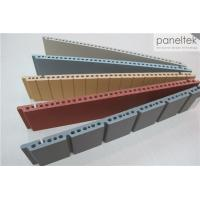 China Colorful Ceramic Exterior Wall Panels Products Reliable 300 * 800 * F18mm Size wholesale