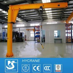 China Fixed Column 1ton 3ton 5ton 10ton Pillar Mounted Free Standing Jib Crane Portable Jib Crane wholesale
