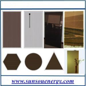 China Amorphous silicon solar panel 50w to 110w, high efficiency thin film solar panel 110w wholesale