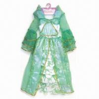 China Party Dress, Made of 100% Polyester, Various Sizes and Colors are Available wholesale