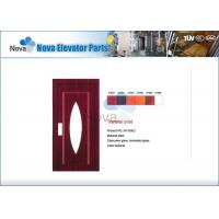 China NV31-S Series Stainless Steel Passenger Elevator Semi-Automatic Door for Commercial Passenger Elevators and  Lift wholesale