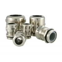 China PG Type Waterproof Metal Cable Glands With Strain Relief M12 M16 M32 M63 wholesale