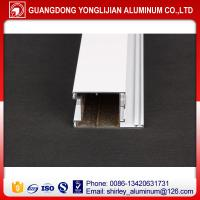China Aluminum doors frame and window frame pwoder coated white color to africa wholesale