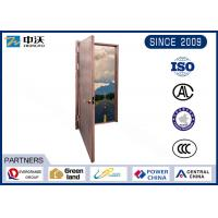 China Corrosion Prevention Fire Safety Door With Single Side GB/T 8485-2008 Standard wholesale