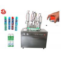 China Auto Aerosol Cans Filling Machines For Pesticide Insecticide, Aerosol Spray Filling Machines on sale