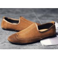 Buy cheap Lightweight Mens Summer Loafers Shoes , Wingtip Mens Suede Driving Shoes from wholesalers