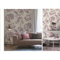 China Art  Flowers Designs  Non-woven Waterproof PVC Wallpaper For Bedroom wholesale