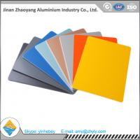 China 3003 0.9mm 1.0mm Color Coated Aluminium Plate For Decoration Weatherproof 50 kg / Cm wholesale