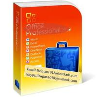 China Best Price for   Office 2010 Professional Retail Box with DVD , 32Bit /64Bit,all language wholesale