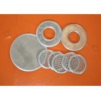 China Micron Wire Mesh Filter Screen Mesh Filter For Well Water , 304 Stainless Steel on sale