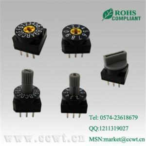 China Rotary type dip switch,China on sale