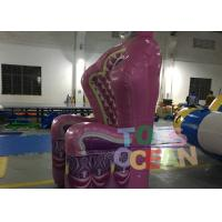 China Inflatable Products Queen Throne Chair Single Pink Inflatable Throne Armchair wholesale