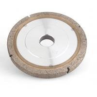 China Flat Metal Bonded Diamond Grinding Wheels For Glass Edging And Profiling on sale