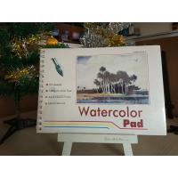 China 190gsm 24sheets Artist Paint Pad gummed watercolour pad A3 / A4 watercolour paper wholesale