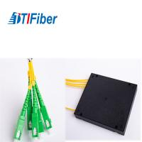 China 55 Directivity Optical Cable Splitter ABS Box Type 55/50 Return Loss High Stability wholesale