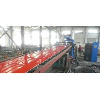 China PP / PE Printing Plastic Sheet Extrusion Line , Recycled Plastic Sheet Production Line wholesale