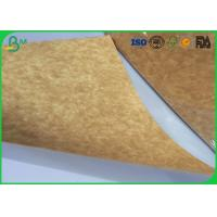 China Stretching Resistance Kraft Liner Paper 400gsm 450gsm In Sheet / Roll Packing wholesale
