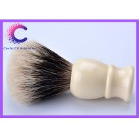 Quality Men's shving sets fine badger shaving brush hair knot with ivory handle for sale
