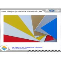 Quality Oxidation Resistant Color Coated Aluminum Coil / Sheet Width 500 - 1500mm for sale