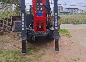 China St 200m Depth Drilling 200mm Dia Pneumatic Borewell Machine wholesale
