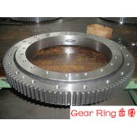 Quality Custom Alloy Steel Forging Spur Gear Ring Flange ASTM EN Standards For Wind for sale