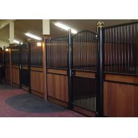 Buy cheap V Front Movable Horse Stalls , Horse Stall Front Kits With Full Grill Swing Door from wholesalers
